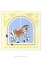 Zebra Carousel Fine Art Print