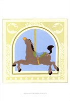 """13"""" x 19"""" Carousel Horse Pictures"""