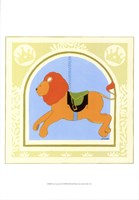 Lion Carousel Fine Art Print