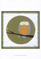 Owl Cameo IV Fine Art Print