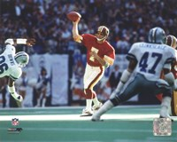 Joe Theismann 1983 Action Fine Art Print