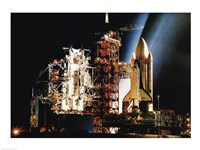 Space Shuttle Columbia - various sizes