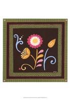 """Patchwork Garden II by June Erica Vess - 13"""" x 19"""" - $12.99"""