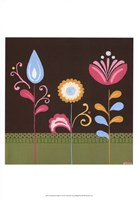 "Patchwork Garden IV by June Erica Vess - 13"" x 19"""