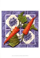 Carrot Tile Fine Art Print