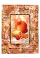 Mixed Fruit II Framed Print