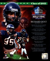 Richard Dent 2011 Hall of Fame Composite Fine Art Print