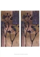 "2up Small Stem Silhouette I by Jennifer Goldberger - 13"" x 19"""