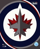 Winnipeg Jets 2011 Team Logo Fine Art Print