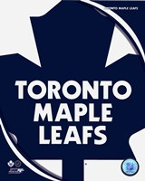 Toronto Maple Leafs 2011 Team Logo Fine Art Print