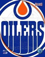 Edmonton Oilers 2011 Team Logo Fine Art Print