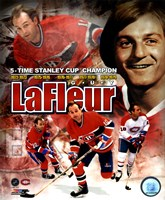 Guy LaFleur 2011 Portrait Plus Framed Print