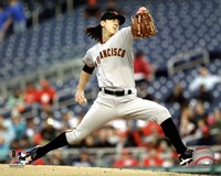 Tim Lincecum 2011 Action Fine Art Print