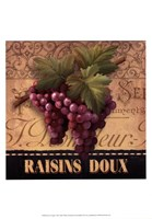 Sweet Grapes Framed Print