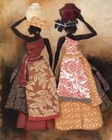 Village Women II Framed Print