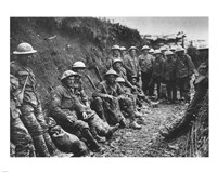 Royal Irish Rifles Ration Party Somme July 1916 Fine Art Print