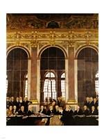 William Orpen - The Signing of Verailles Treaty Fine Art Print