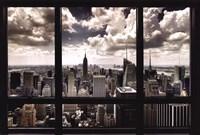 "New York Window - 36"" x 24"""