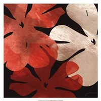 "Bloomer Tiles III by James Burghardt - 17"" x 17"""