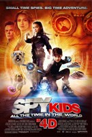 """Spy Kids 4: All the Time in the World - 11"""" x 17"""""""