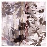 "Wallflower I by James Burghardt - 17"" x 17"""