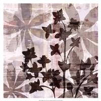 "Wallflower III by James Burghardt - 17"" x 17"""