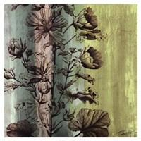"Painted Botanical II by John Butler - 19"" x 19"""