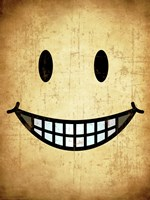 Hang up a Smile (sepia) - various sizes
