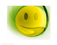 Happy Face Orb Fine Art Print