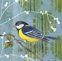 Blue Sky Songbird II Fine Art Print