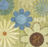"""Say it with Flowers I by Veronique Charron - 12"""" x 12"""" - $9.99"""