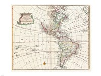 1747 Bowen Map of North America
