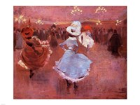 Jean-Louis Forain Can-Can Dancers - various sizes