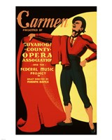 Carmen Matador Playbill 1939 Fine Art Print