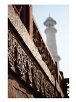 Close up of Carving at the Taj Mahal, Agra, Uttar Pradesh, India - various sizes