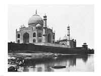 Felice Beato Taj Mahal 1865 Fine Art Print