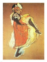 Henri de Toulouse-Lautrec Can-Can Jane Avril Fine Art Print