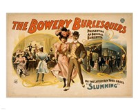 The Bowery Burlesquers Fine Art Print