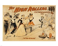 High Rollers Extravaganza Fine Art Print