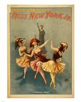 Miss New York Jr. - A Midnight Frolic - various sizes, FulcrumGallery.com brand