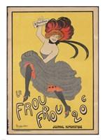 Frou Frou Framed Print