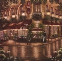 Cafe Le Buci Fine Art Print