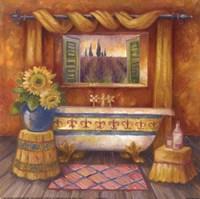 Villa Bath I Fine Art Print