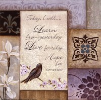 Lavender Inspiration I Fine Art Print