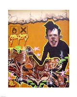 Graffiti Portrait Fine Art Print