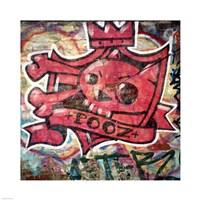 Graffiti Toppila Fine Art Print
