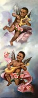 Black Cherubs Fine Art Print