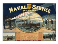 Naval Service of Canada - various sizes