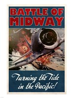 Battle of Midway Fine Art Print