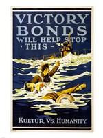 Victory Bonds Fine Art Print